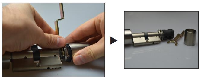 NFC Schließzylinder einbau 1