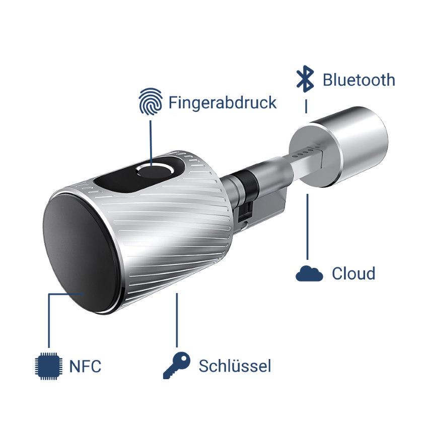 Elektronischer Schließzylinder NFC Bluetooth